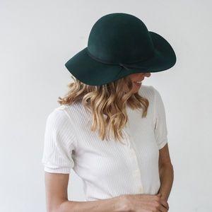 Accessories - Green Floppy Hat